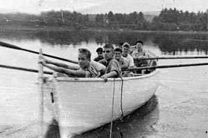 1920s Whaleboat, Camp Chadwick Dunstable, MA